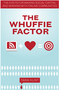 Couverture du Whuffie Factor de Tara Hunt