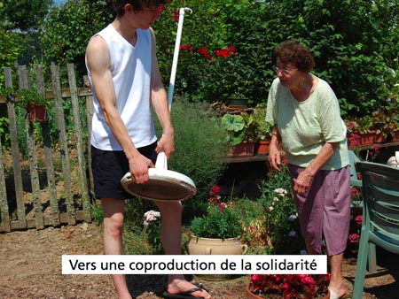 Une coproduction de la solidarité