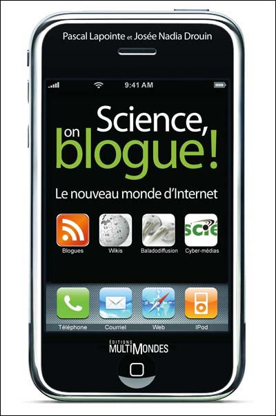 La couverture du livre Sciene on blogue
