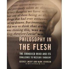 La couverture de Philosophy in Flesh, le livre de George Lakoff