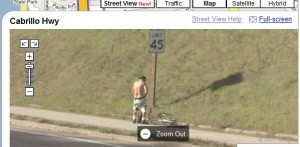 Un homme immortalisé sans son consentement par Google Street View