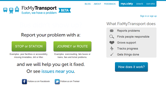 FixMyTransport