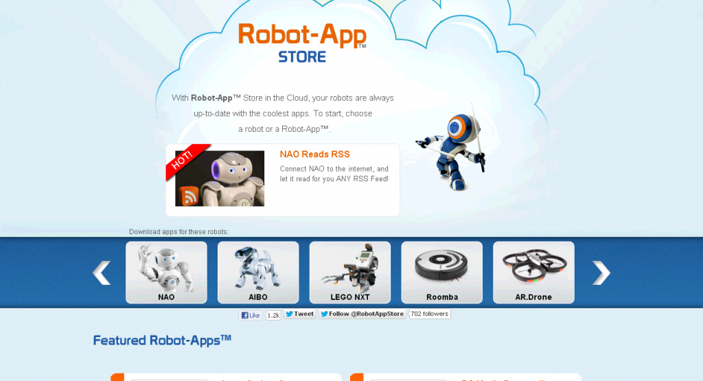 Robot App Store - Apps For Every Robot!