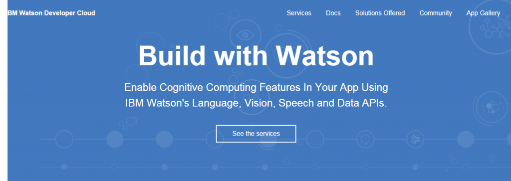 IBM Watson Developer Cloud