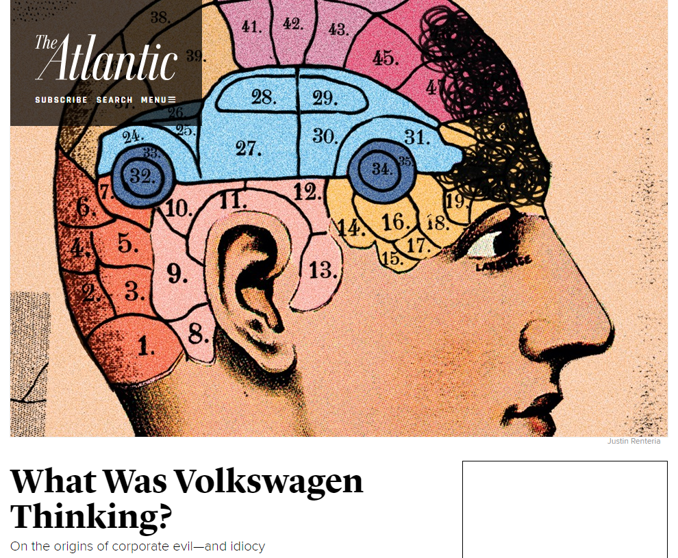 Volkswagen  Johnson   Johnson  and Corporate Responsibility The Atlantic