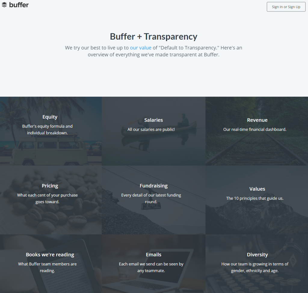 buffertransparency
