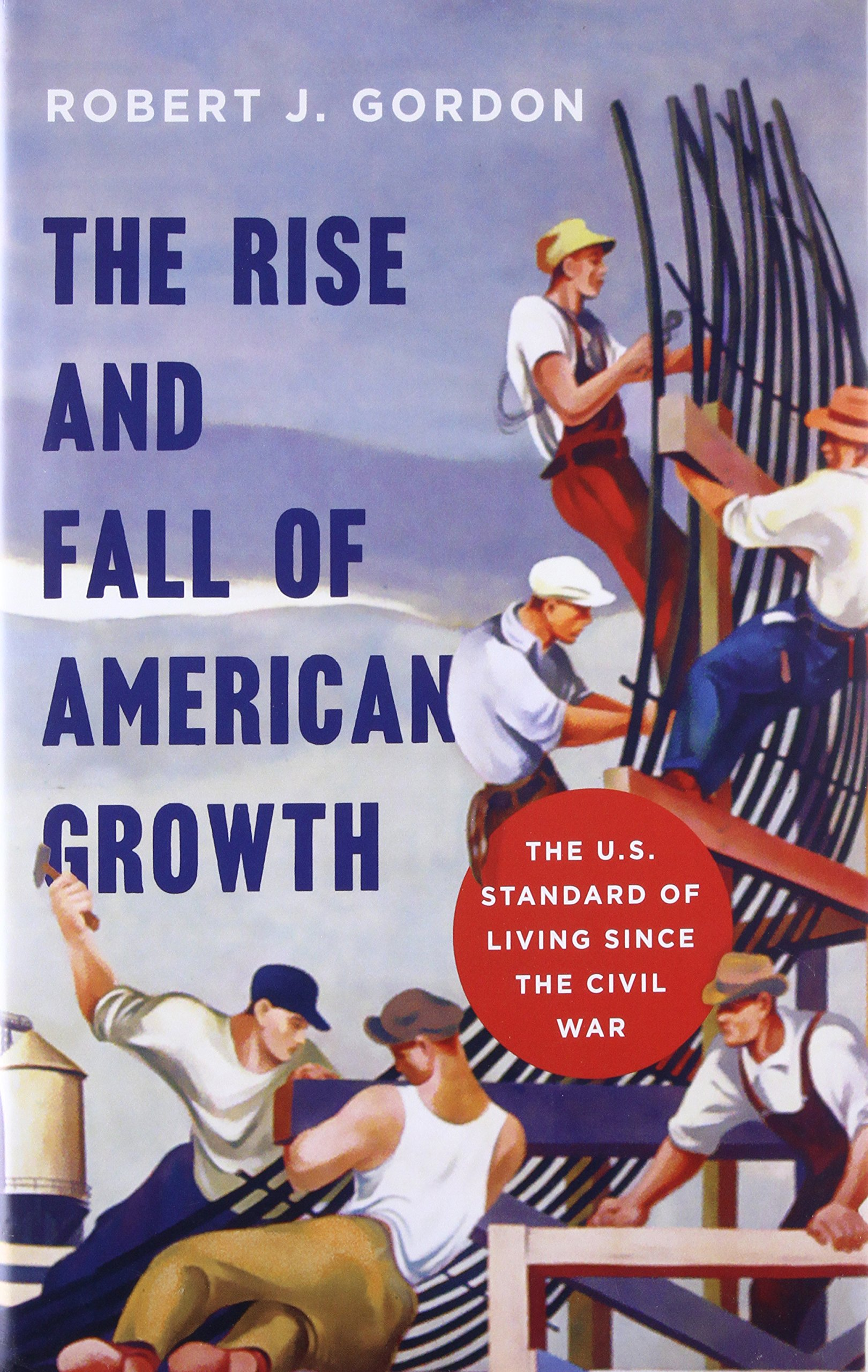 Couverture du livre The Rise and Fall of American Growth