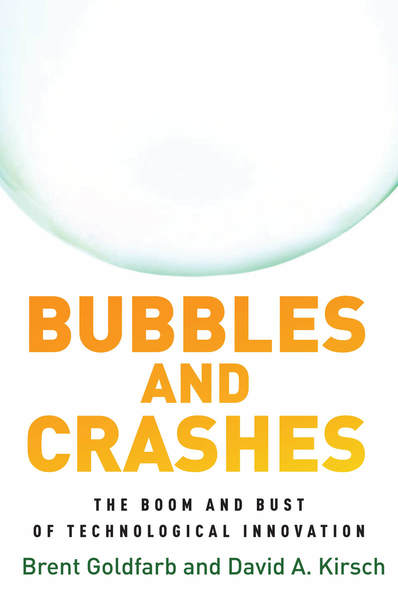 Couverture du livre Bubbles and Crashes